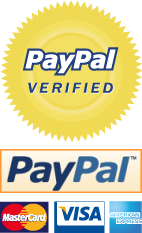 Payments via Paypal Account and Cards Accepted